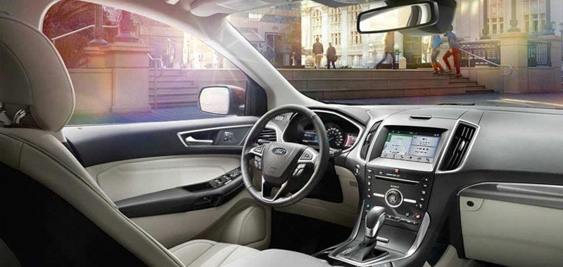 2017 Ford Edge Interior Technology